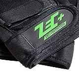 ZEC+ Herren Trainings HANDSCHUHE Fitness in Schwarz Größe XXL - 4