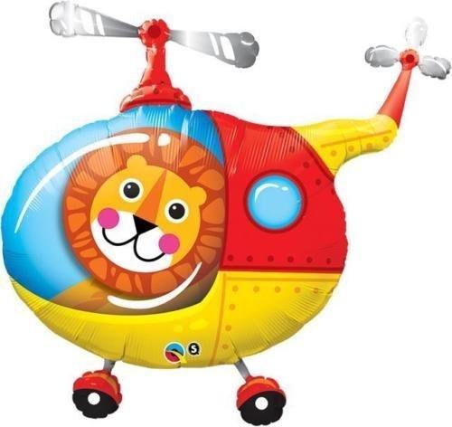 Pilot-ventil (Qualatex Löwe Hubschrauber Pilot 35 Zoll Super Form Folie Luftballons)