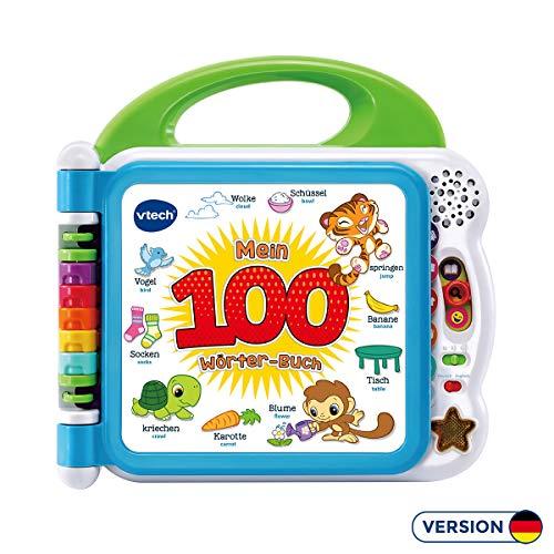 VTech 80-601504 Mon Livre de 100 woerter Baby Livres