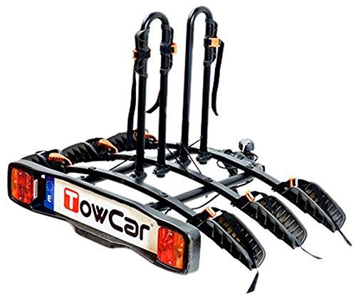 towcar TCB0003 Fahrradträger/Fahrradhalterung fürs Auto, für 3 Fahrräder
