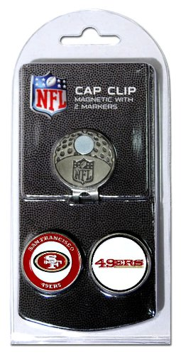 nfl-san-fransisco-49ers-cap-clip-with-2-markers