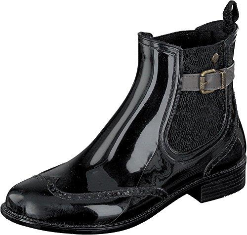 GOSCH SHOES , bottes en caoutchouc femme noir/gris