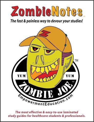 Zombie Notes EKG Basics (laminated card) by Michele G. Kunz (2011-01-01)