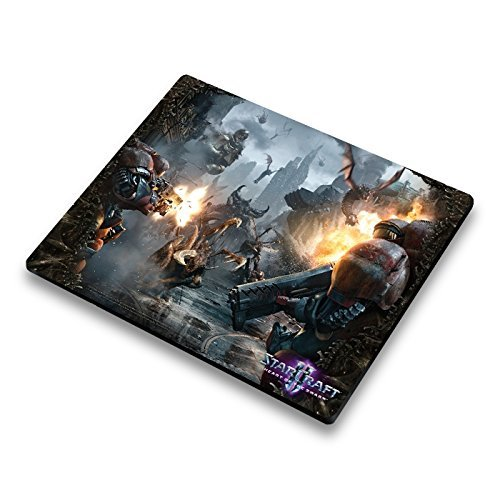 "Preisvergleich Produktbild Mauspad Starcraft II Heart of the Swarm ""Zerg Rush"""