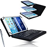 Adapter-Universe Bluetooth Keyboard Schutzhülle Smart Cover + Tastatur Amazon Fire HD 8