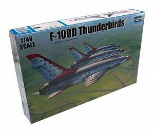 Trumpeter - Juguete de aeromodelismo Thunderbirds Escala 1:35 (TSM2822)