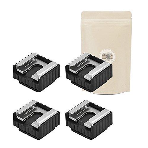 Adaptout - Lote 4 adaptadores zapata flash tornillo
