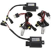 6000 K H4 Hi %2FLo Dual Beam lampadine HID Xenon Kit di conversione 12 V, 55W