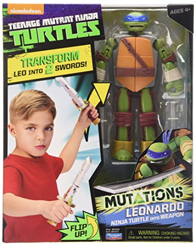 Teenage Mutant Ninja Turtles Mutations Figure To Weapon Leonardo Action (Von Turtles Ninja Den Leonardo)