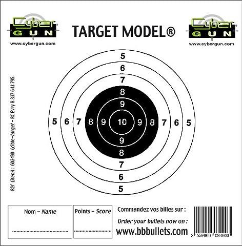 Cible Pistolet A Bille - Swiss Arms Cible papier de remplacement pour