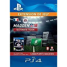 12.000 Madden NFL 18 Ultimate Points d'équipe  | Code Jeu PS4 - Compte français