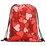 Bfmyxgs Mother es Day Women Backpack Bundle Rope Valentine es Day Bag Shopping Drawstring Bag Totes...