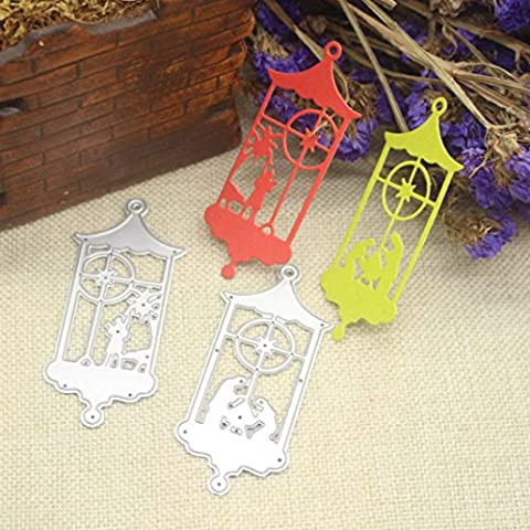 Merry Christmas Scrapbooking Cutting Dies,Omiky® 3D Stereoscopic Stencils Die Cut