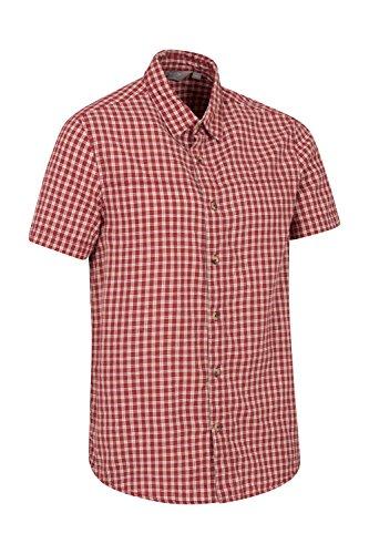 Mountain Warehouse Camicia Uomo Weekender Rosso