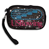 Launge USA Rowing Team Logo 2016 Rio Summer Brazi Coin Purse Wallet Handbag