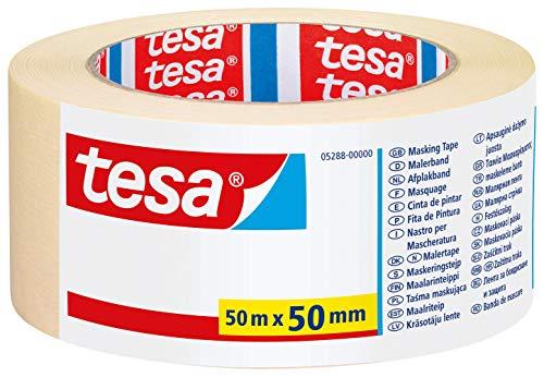 tesa Malerband für einfache Malerarbeiten, 50m x 50mm
