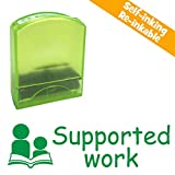Supported work, Self-inking, Reinkable Low Cost Teacher Stamp