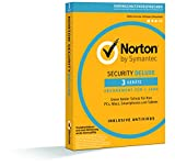 Norton Security Deluxe Antivirus Software 2018 / Zuverl�ssiger Virenschutz (Jahres-Abonnement) f�r bis zu 3 Ger�te / Download f�r Windows (u.a. Vista, 8 & 10), Mac, Android & iOS Bild
