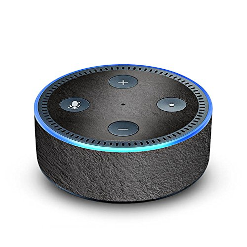DeinDesign Amazon Echo Dot 2.Generation Folie Skin Sticker aus Vinyl-Folie Beton Concrete Wand