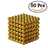 #9: Perfect Magnet Gold Magic Metal Magnet Size: 5 mm (50 Pieces)