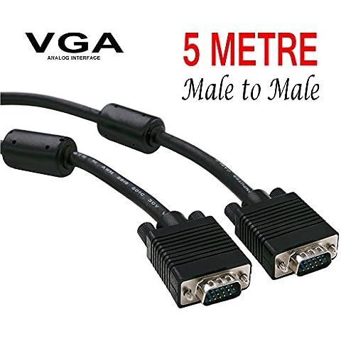 Cavo VGA maschio a maschio 5m