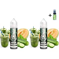 E Liquid Rings GREEN SMOOTHIE 50ml (Pack 2 unidades) - 70vg 30pg - booster
