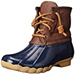 Sperry Womens Saltwater Boot Round Toe Ankle Rainboots