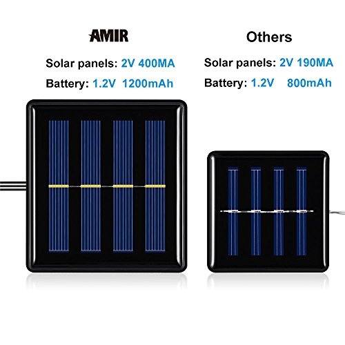 Amir Solar Powered LED String Li...