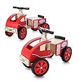 Baby Vivo Lauflernhilfe/Auto für Kinder aus Holz–Sammy