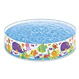Intex-56452 Piscina Rigida Oceano, Multicolore, 183x38 cm, 56452