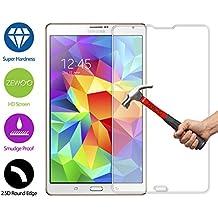 ZeWoo Protector de pantalla de vidrio templado para Samsung Galaxy Tab S (8,4 pulgadas) SM-T700 SM-T705 ultra duro 9H *2.5D con un espesor de 0,33 mm
