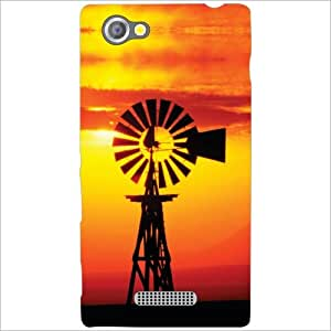 Sony Xperia M Back Cover - This Way Designer Cases
