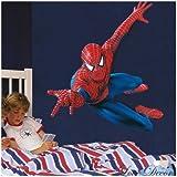 Riesige große Spiderman Wandaufkleber Kinder Jungen Schlafzimmer Aufkleber Kunst Wandbild Dekor.
