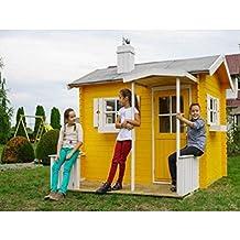 Casa Kinder Niños de Madera de abeto de jardín