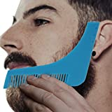 #8: Inovera Beard Shaping Comb Styling Tool Beard Comb(Blue)