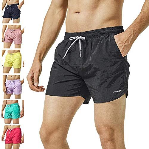 WunderschöNen Mens Swim Shorts Swimming Board Bottoms Trunks Swimwear Beach Summer Quick Dry Clothes, Shoes & Accessories Men's Clothing