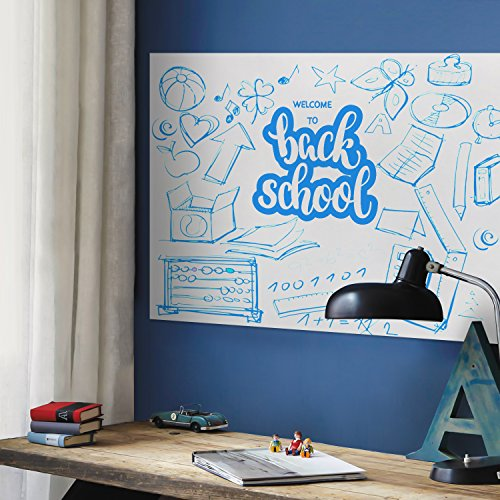 Whiteboard Sticker Wall Decal Contact Paper For Office Home School 445 X 200CM