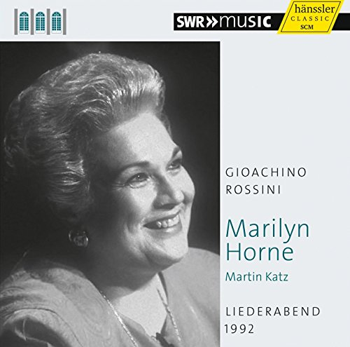 Marylin Horne Chante Rossini : Airs et Melodies