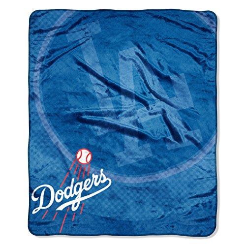 Northwest MLB Houston Astros Retro Plüsch Raschel Überwurf, MLB070400015RET, Los Angeles Dodgers -