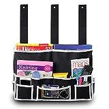 KAIFANG 6Pocket Nachttisch Storage Bag Aufhängen Kleinteile, Zeitschriften, Handy, Tissue Holder...