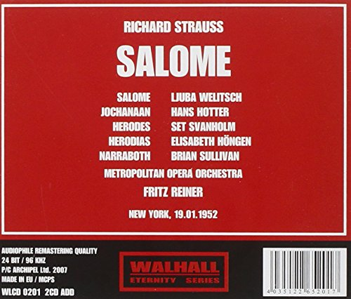 SALOME-Richard Strauss