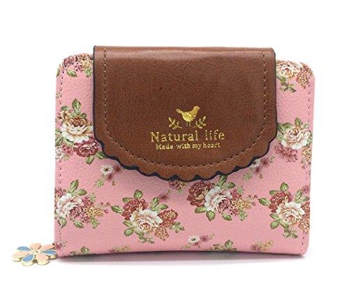 imur-womens-pastoral-style-floral-prints-package-cover-zipper-short-wallet