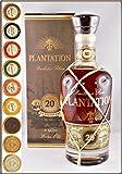 Plantation Extra Old 20th Anniversary Barbados Rum mit 9 DreiMeister Edel Schokoladen in 9 Variationen, kostenloser Versand