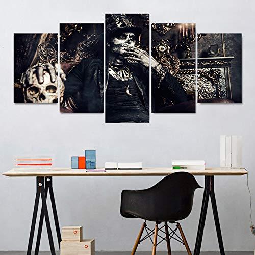 Wandtattoo wandaufkleber kinderzimmer aufkleber kinder tieren schlafzimmer Skull Pattern Collect Halloween Wall Stickers For Party Creative PVC Mural Wallpaper Party Bedroom Home Decor5pcs/set