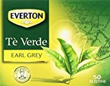Everton - Tè Verde, Earl Grey - 2 confezioni da 50 bustine [100 bustine]