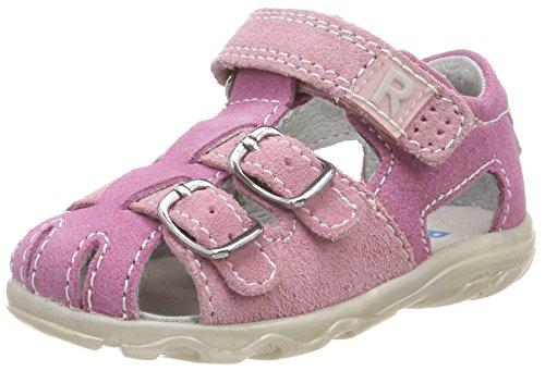 Richter Kinderschuhe Mädchen Terrino Geschlossene Sandalen, Pink (Candy/Powder), 19 EU