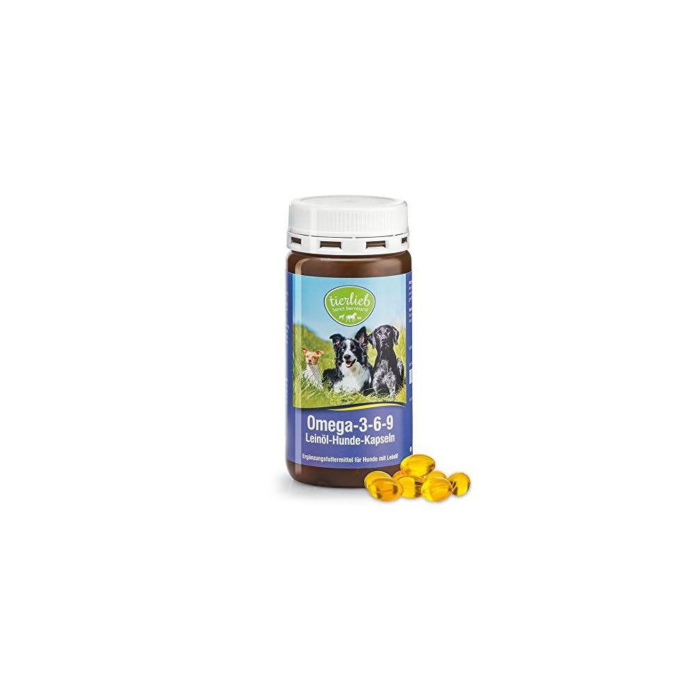 Omega 3 6 9 Leinl Hunde Kapseln