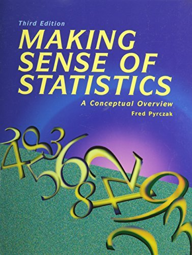 Making Sense of Statistics: A Conceptual Overview by Fred Pyrczak (2002-01-31)