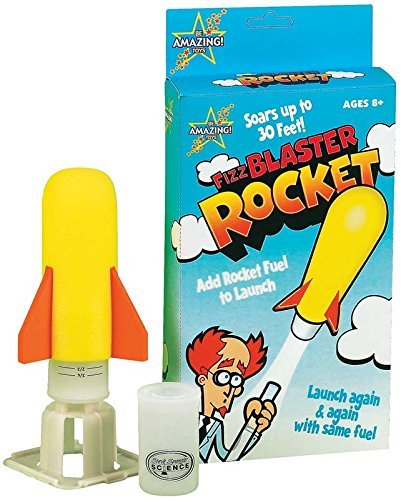 Be Amazing Toys-Bap Investors 5865 Fizz Blaster Toy Rocket by Be Amazing! Toys