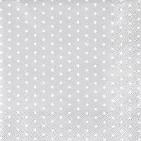 Papier-Servietten 25x25 cm Santa Mini rot